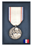 French Gratitude Medal