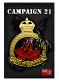 62nd Canadian Cavalry Brigade Medal